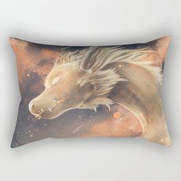Dragon Ghost Rectangular Pillow