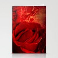 passion Stationery Cards featuring Passion by Loredana