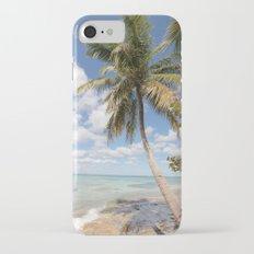 Isla Saona - Palm Tree at the Beach Slim Case iPhone 7