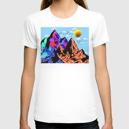 Colored Peaks T-shirt