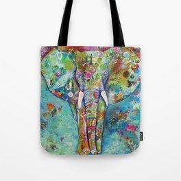 Majestic Elephant Tote Bag