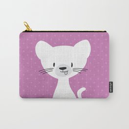 Purple cat Carry-All Pouch
