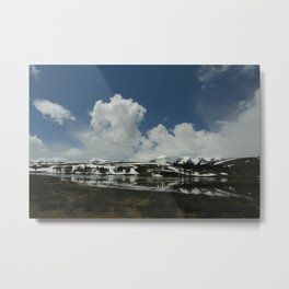 Snow Covered West Metal Print