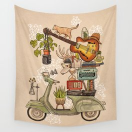 Pleasant Balance II Wall Tapestry