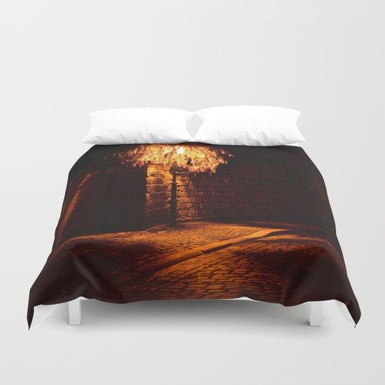 Lamppost  Duvet Cover