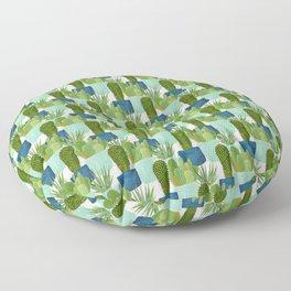 Three Cacti Floor Pillow