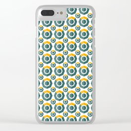 Komodo (Kmd) - Crypto Fashion Art (Small) Clear iPhone Case