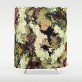 Overhang Shower Curtain