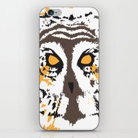 psych iPhone & iPod Skins featuring Psych Owl by T Dupuis