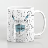mask Mugs featuring Mask by cihandag