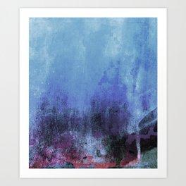 blue3 Art Print