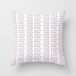 1789-french revolution, révolution française, revolución francesa,human rights,democraty Throw Pillow
