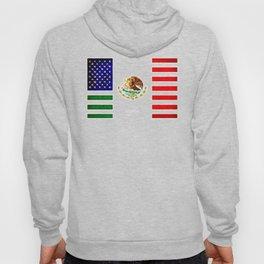 MEXICAN AMERICAN FLAG - 017 Hoody