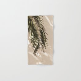 tropical palm leaves vi Hand & Bath Towel