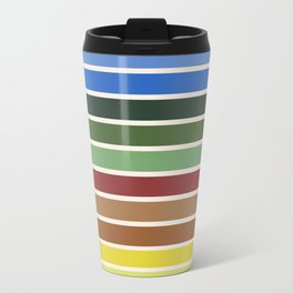 The colors of - Castle in the sky Travel Mug