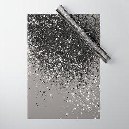 Silver Gray Glitter #1 #shiny #decor #art #society6 Wrapping Paper