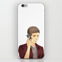 stiles iPhone & iPod Skins featuring Stiles by Autumnleaves