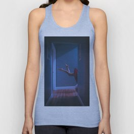 there's a light in the attic Unisex Tank Top