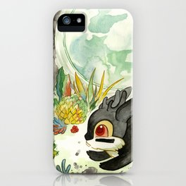 Moonlight (With Jackalopes) iPhone Case