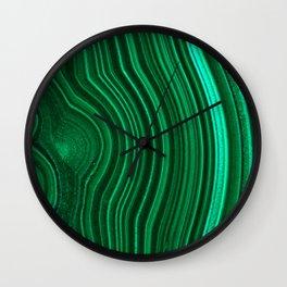 Malachite no. 2 Wall Clock