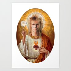 Jareth is my Jesus Art Print