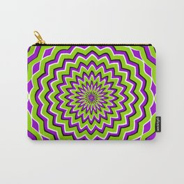 Optical Illusion moving pattern Carry-All Pouch
