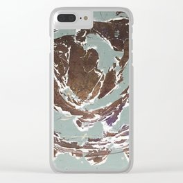 """What Remains"" Clear iPhone Case"