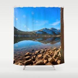 Donner Symmetry Shower Curtain