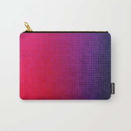 Blupink Dots Carry-All Pouch