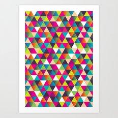 Crazy Pattern Art Print