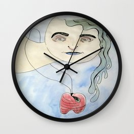 Serpentine Smile Wall Clock