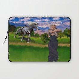 Princess Bitey vs. The Big Sis Laptop Sleeve