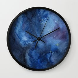 Cosmos I Wall Clock