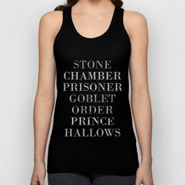 Titles with a Twist Unisex Tank Top
