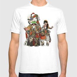 Cyber Sultan and Sultana.  T-shirt