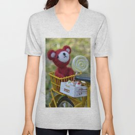 Toys - A cool sunset Unisex V-Neck