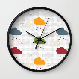 You are my sunshine, whatever the weather Wall Clock