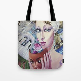 Lady Europe Tote Bag