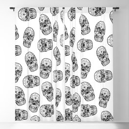 Skull - Día de Muertos / Day of the Dead Blackout Curtain