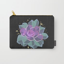 Space Succulent Carry-All Pouch