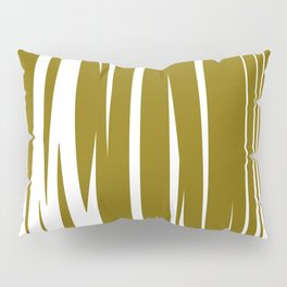 gold lines, wild ethno Elements gold Pillow Sham