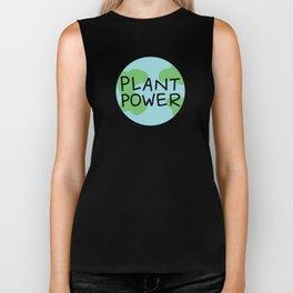 Plant Power Biker Tank