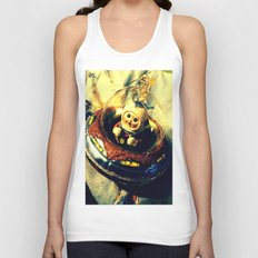A Flying Saucer Christmas Unisex Tank Top