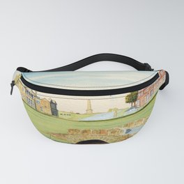 St Andrews Golf Course 18th Hole Fanny Pack