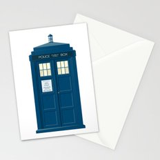 The Tardis Stationery Cards