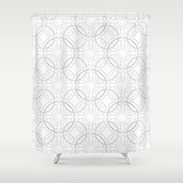 Rondo Grey Shower Curtain