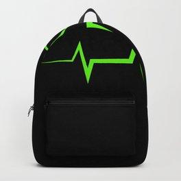 Plants Heartbeat Vegan Gift Backpack