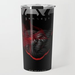 "Vaca - MP: ""Vaca - Genisys"" Travel Mug"