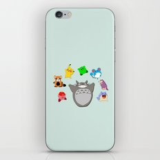 Video game Anime Character Rainbow iPhone & iPod Skin