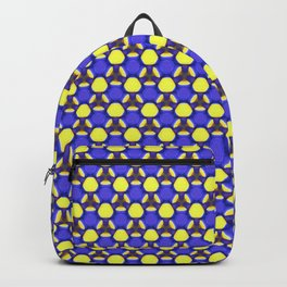 Blue labyrinth Backpack